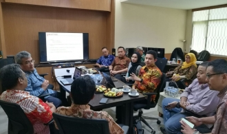 Audiensi APSPIG Dengan Deputi Bidang IGD-BIG Bapak Ir. Mohamad Arief Syafii, M.Eng Sc