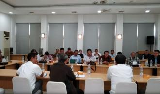 Audiensi APSPIG Dengan Dirjen Infrastruktur Keagrariaan Kementerian ATR/BPN Bapak Ir. Raden Muhammad Adi Darmawan, M.Eng.Sc.